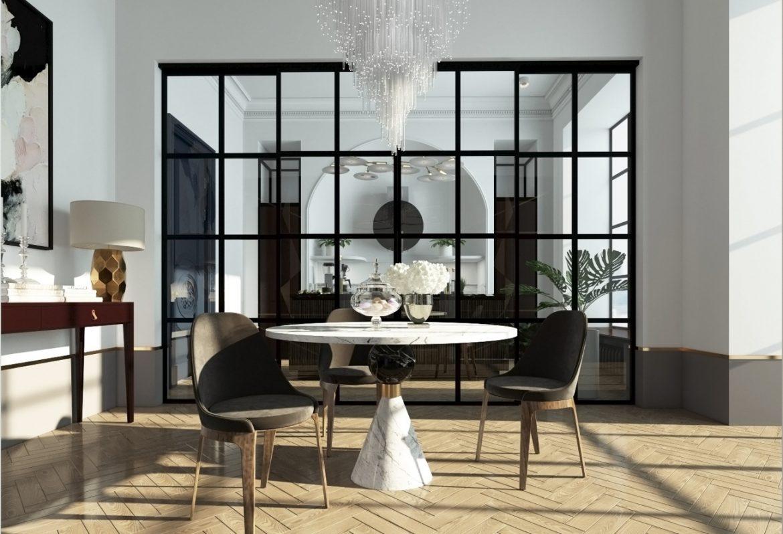 BR Interiors (Украина). Квартира в стиле парижской неоклассики