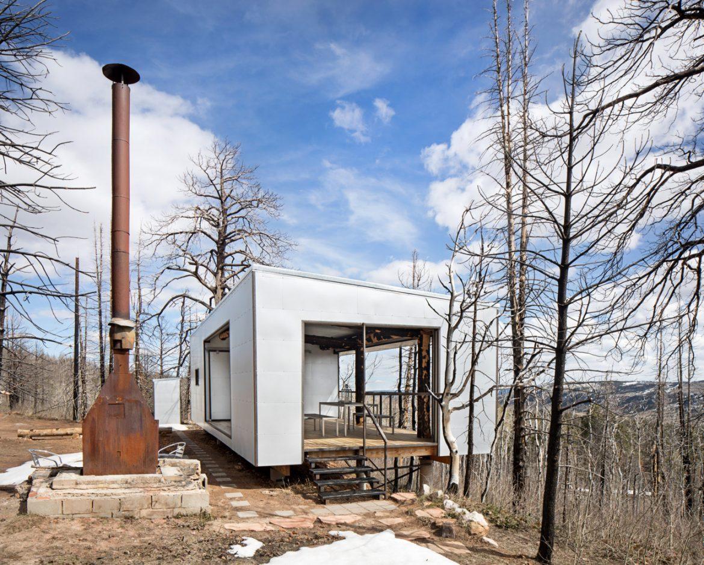 Carney Logan Burke Architects (США). Дом из сгоревшей хижины