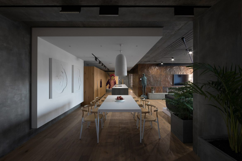 Sergey Makhno Architects (Украина). Квартира-галерея