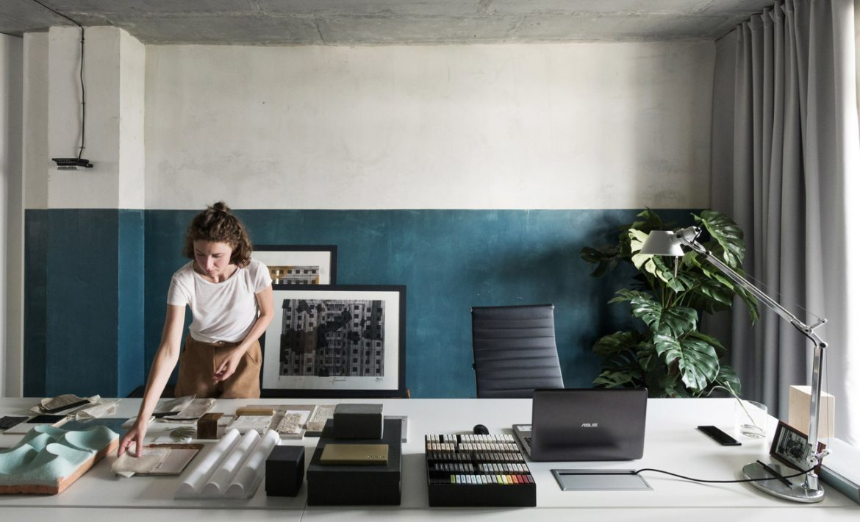 Studio 11 (Беларусь). Цвет и текстура в офисе