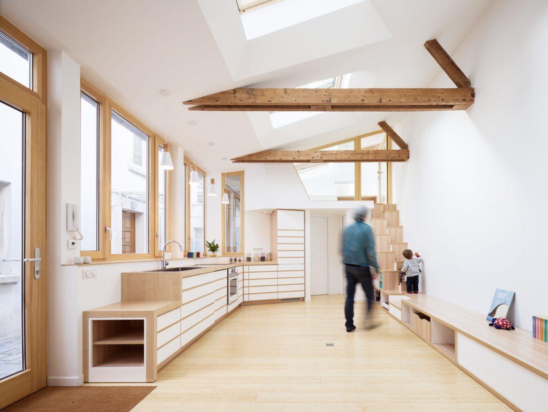 Atelier Wilda (Франция). Квартира из мастерской