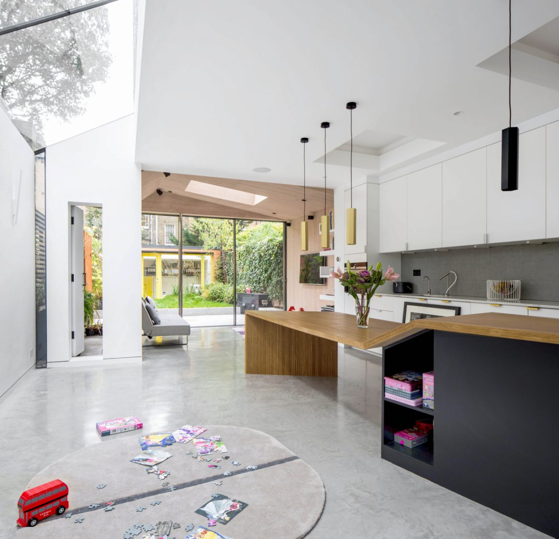 David Stanley Architects + Romy Grabosch (Великобритания). Современная пристройка
