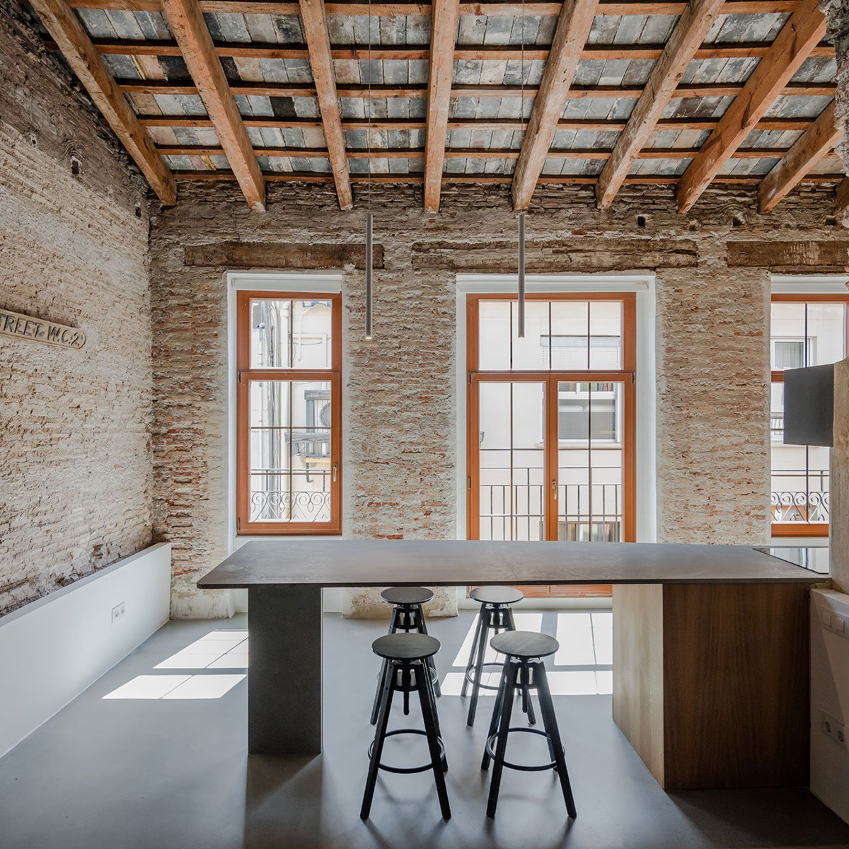 Roberto di Donato Architecture (Великобритания). Квартира в Валенсии