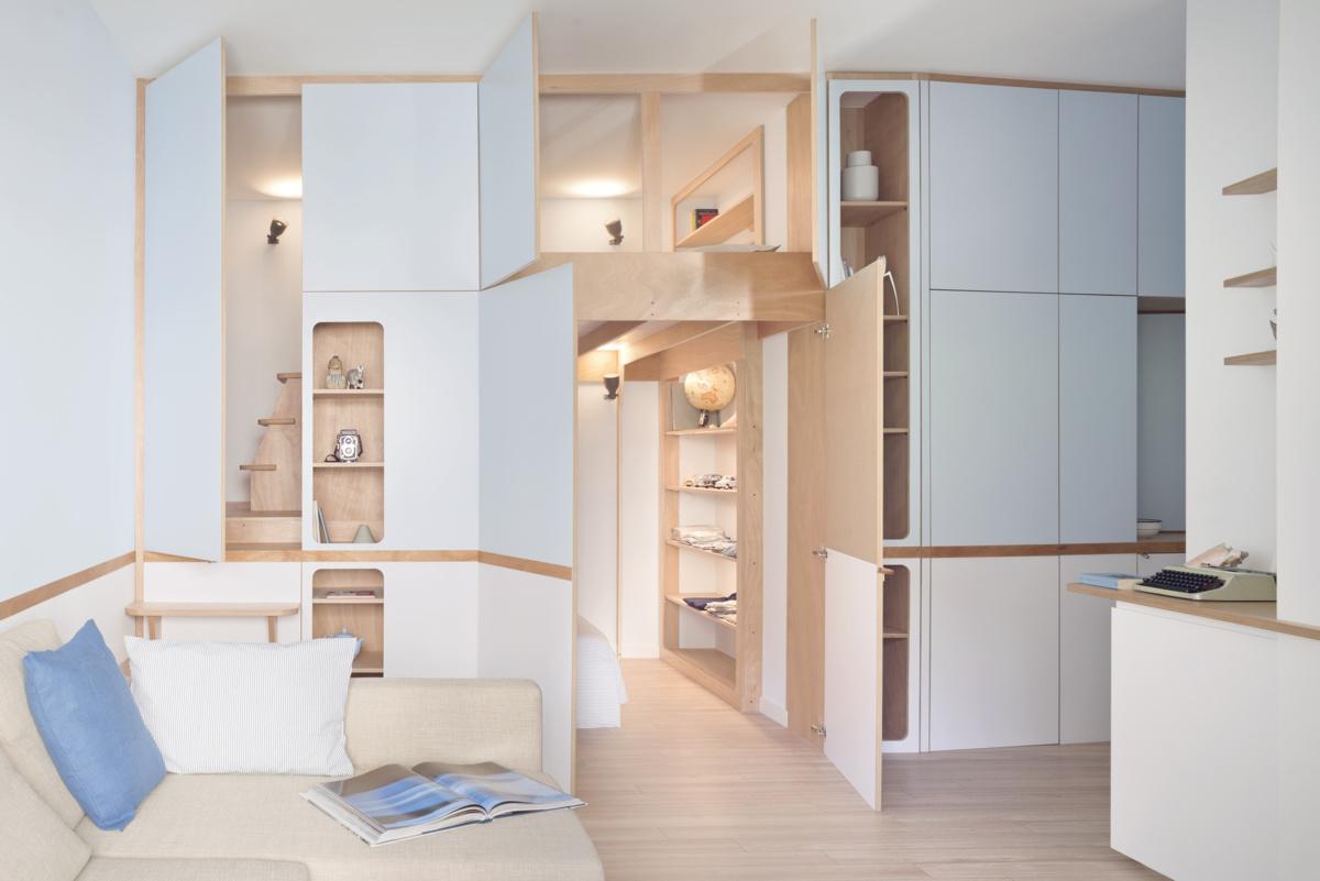 Llab (Италия). Квартира с «каютами» для сна