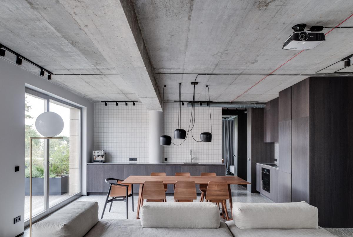 Aketuri Architektai (Литва). Квартира в Вильнюсе