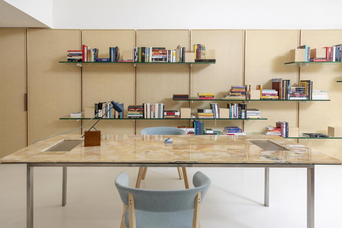 Pascali Semerjian Arquitetos  (Бразилия). Домашняя библиотека