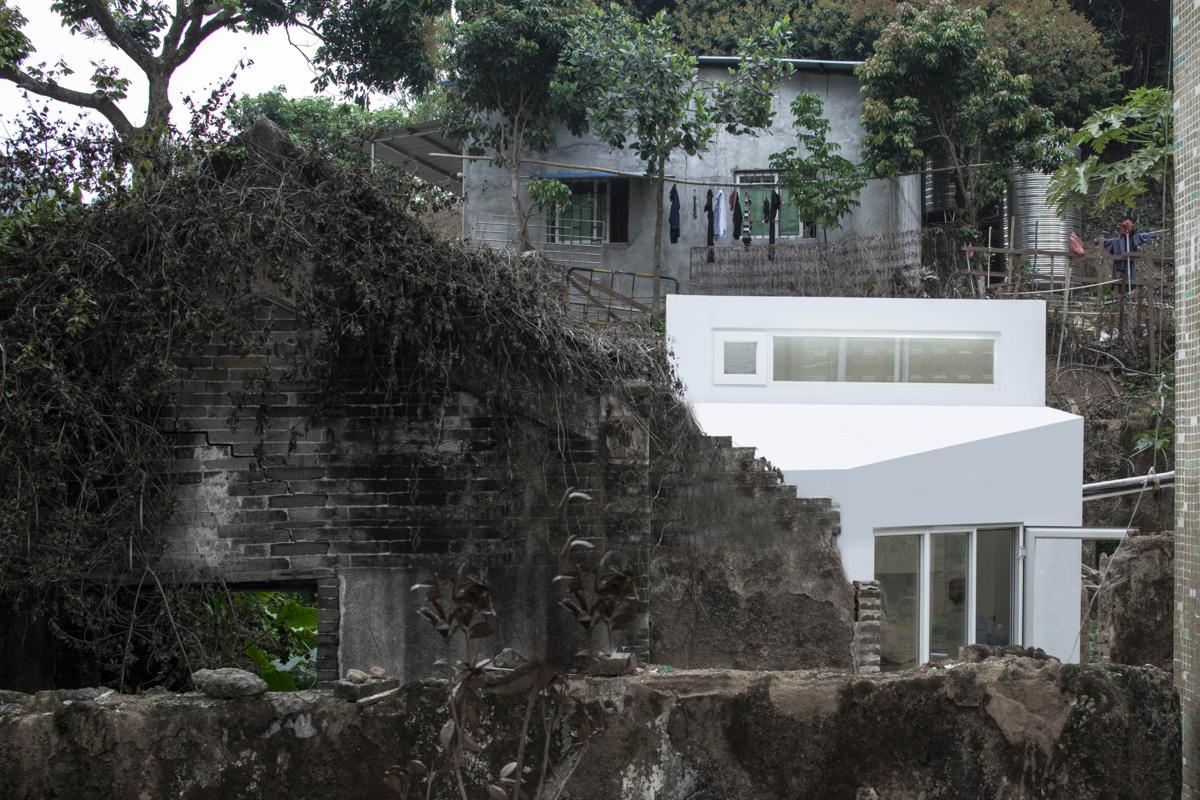 People's Architecture Office (Китай). Пристройки к развалинам
